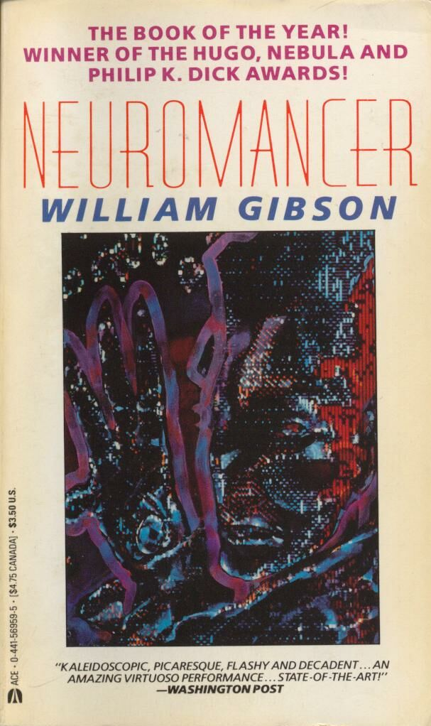 5f3ec486146 William Gibson. Neuromancer
